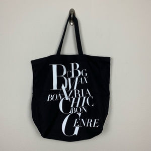 BCBGMaxAzria Shopping Tote Bag Black #L31